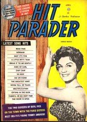 Le magazine Hit Parader, créé en 1942.