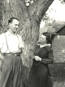 Mes parents, Julien Genest et Jeanne Petit