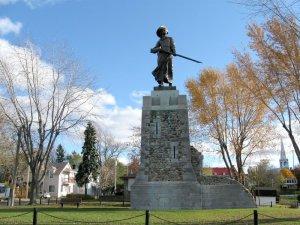 Monument à Madeleine de Verchères, Verchères. © Lapointe 56