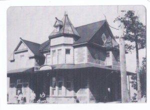 """La maison d'Alred Petit, où était située le """"Central"""" vers 1930."""