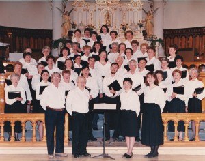 Chorale La Mosaïque, formée de choristes de plusieurs municipalités de la région portneuvoise.