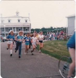 Une course à la Saint-Jean-Baptiste de 1981.