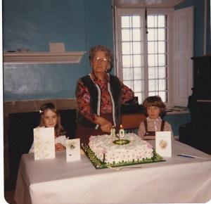 80e anniversaire de Germaine St-Amant, ma belle-mère.
