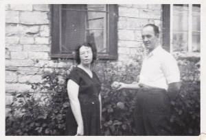 Ma mère et mon père (été 1955).