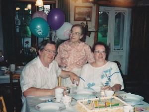 Lors de notre 30e anniversaire de mariage à l'été 1994, deux ans avant que maman nous quitte...