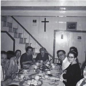 Jour de l'An 1965 dans la famille Bouillé.