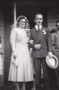 Photo de mariés datant de 1951.