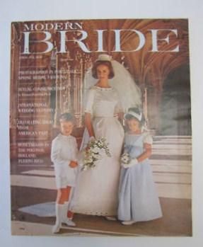 Modern Bride Magazine, 1964.