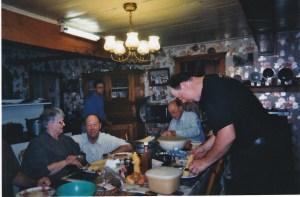 Souper des Genest, en 2009, à la maison familiale dans la rue Johnson.