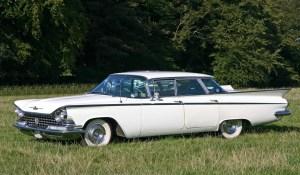 La première auto de mon mari, une Buick LeSabre 1959.