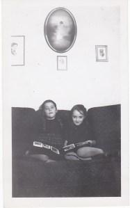 Une amie qui venait de loin, Lucienne, en 1946.