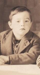 Mon frère André, en 1949.