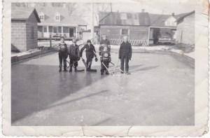 patinoire Johansen 1956