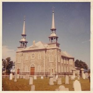 Église Saint-Joseph, le jour de la Toussaint 1963.