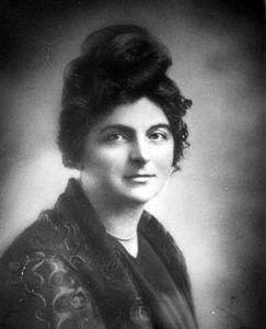 L'auteure Blanche Lamontagne-Beauregard, 1889-1958.