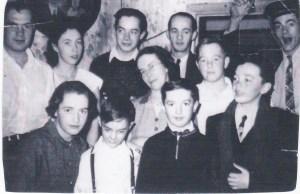 La famille Genest, en 1956.
