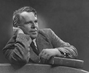 L'auteur Claude-Henri Grignon, 1946 (photo: George Nakash, BAnQ).