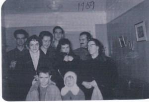 Une soirée à St-Basile, en 1959.