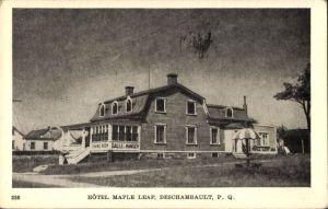 L'hôtel Maple Leaf (source: site Internet de Culture et patrimoine Deschambault-Grondines).
