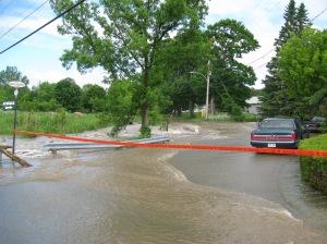 Inondations de juin 2015.
