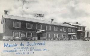 Carte postale Manoir Boulevard