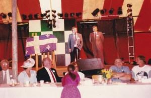 À droite sur la photo: le député provincial Michel Pagé.