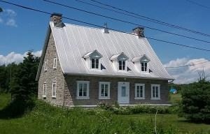 Maison Paquin, 1816, dans le 2e Rang (crédit photo: Patrick Bouillé).