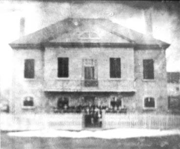 L'une des plus anciennes photos du couvent.