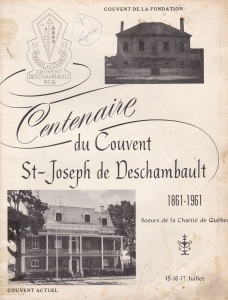 Page couverture de l'album souvenir du centenaire , 1961.