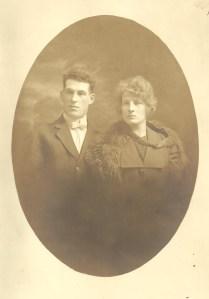 Zéphirin Bouillé et Germaine St-Amant (coll. Madeleine Genest Bouillé).