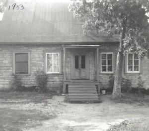 La maison de mes parents vers 1955.
