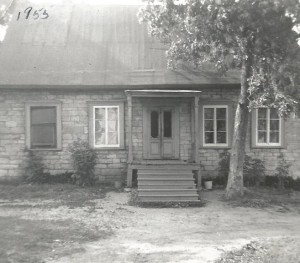 La maison de mes parents vers 1955.