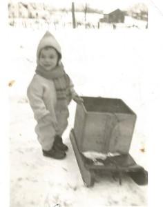 Mon frère Roger en 1949.