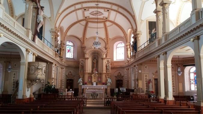 Vue actuelle de l'intérieur de l'église (photo: © Patrick Bouillé).