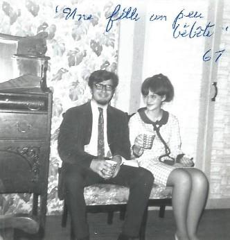 1967 Une fille un peu bebete