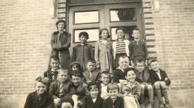 École centrale, au début des années 50 (aujourd'hui l'école du Phare).