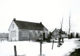L'école de rang située dans le 2e Rang ouest.
