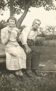 Blanche et Tom.