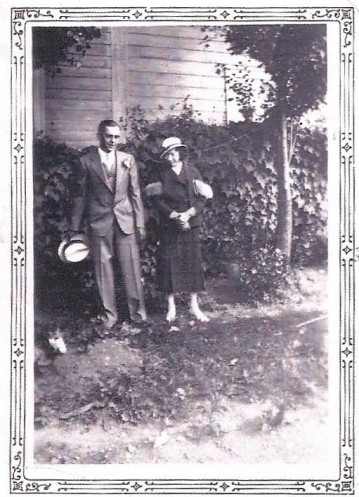 Tante Alice et oncle Léo.